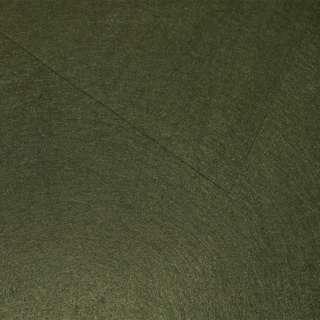 Фетр лист оливковый (0,9мм) 21х30см