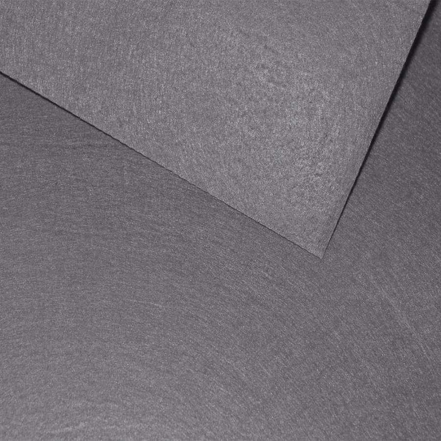 Фетр лист сірий (0,9мм) 21х30см