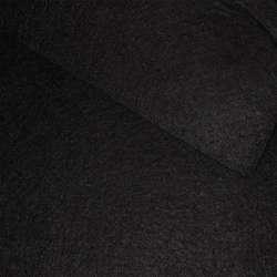 Фетр лист чорний (0,9мм) 21х30см